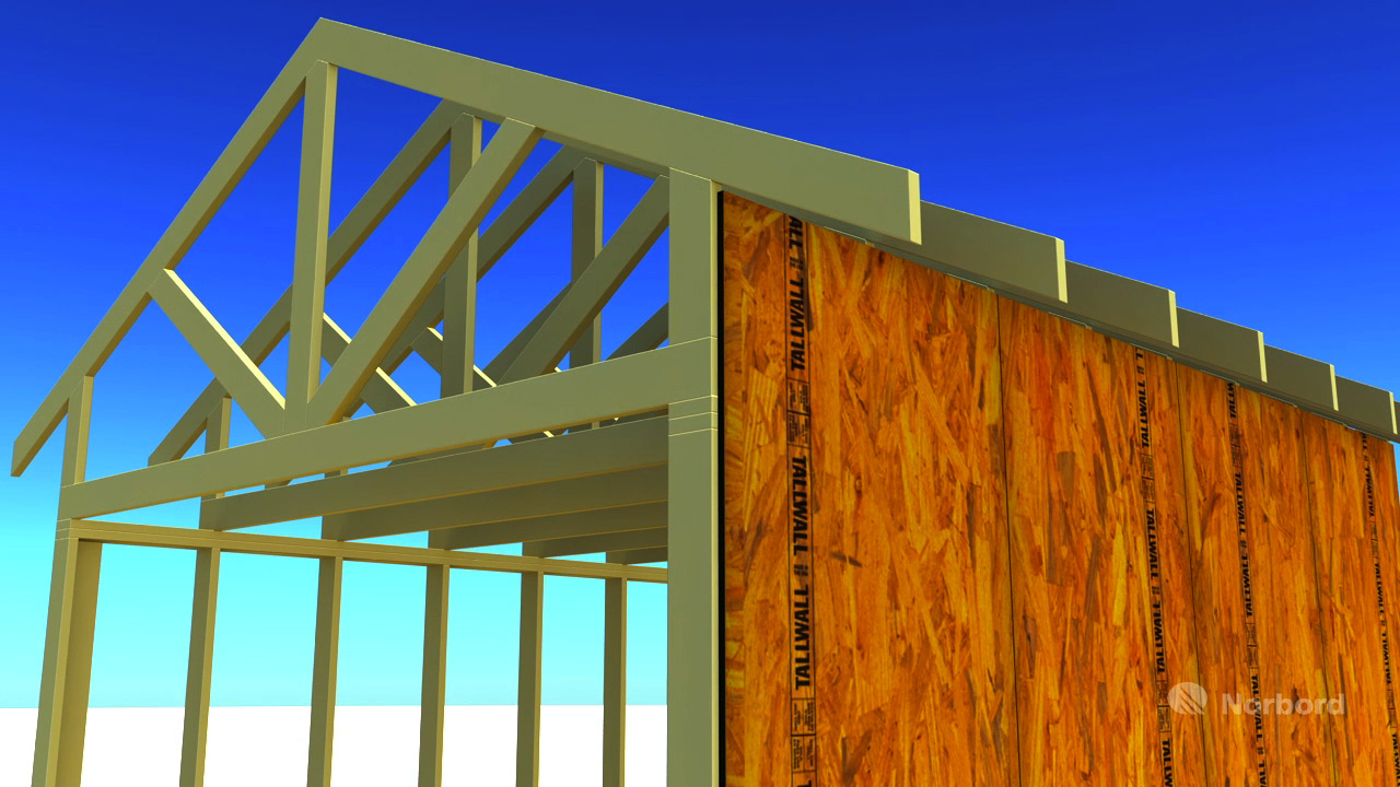 How To: Install a Raised Heel Roof Truss