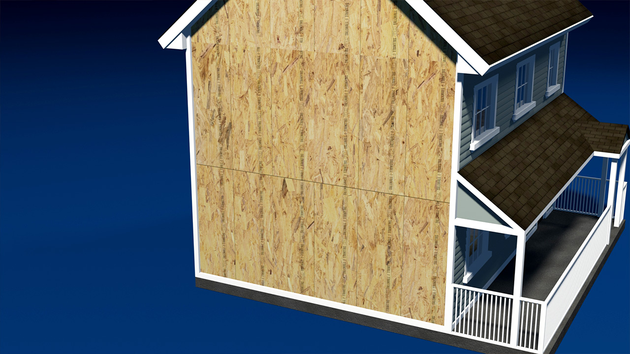 How To: Wall sheathing